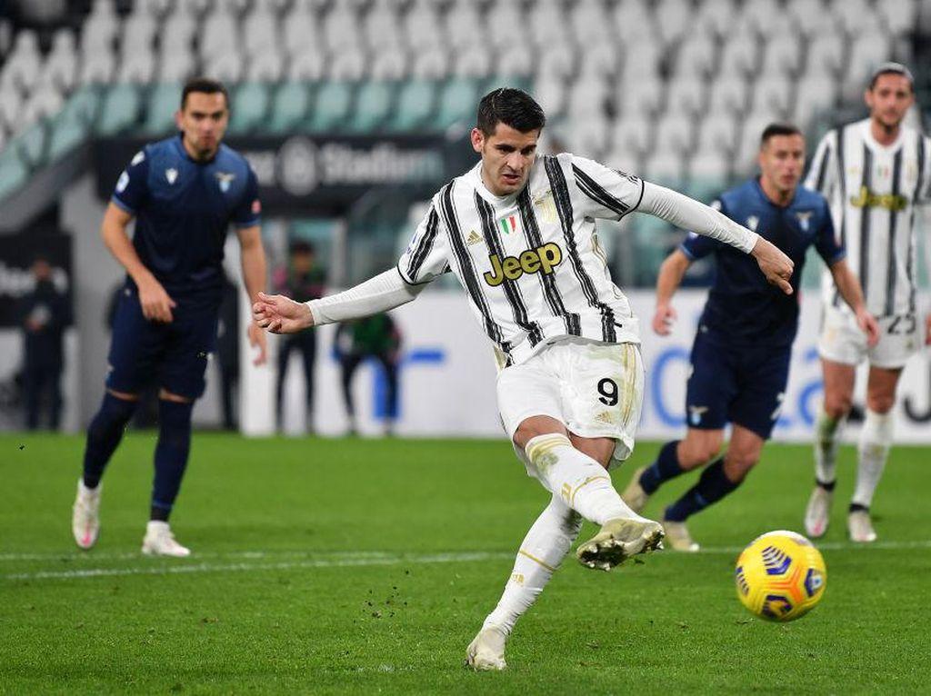 Video Juventus Atasi Lazio Tanpa Ronaldo, Menang 3-1