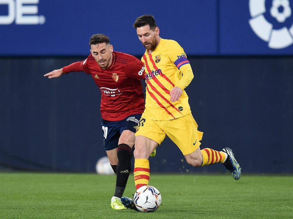 Osasuna Vs Barcelona: Aksi Assist-assist Manja Messi