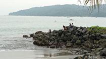 Foto: Nikmati Senja di Pantai Pangandaran