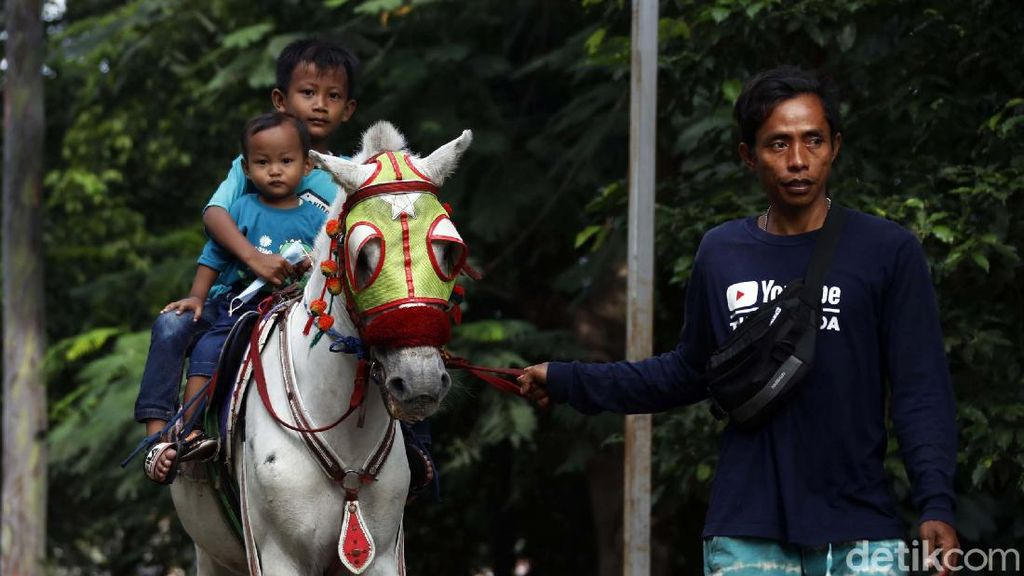 Raih Cuan di Masa Pandemi Lewat Jasa Wisata Kuda Tunggang
