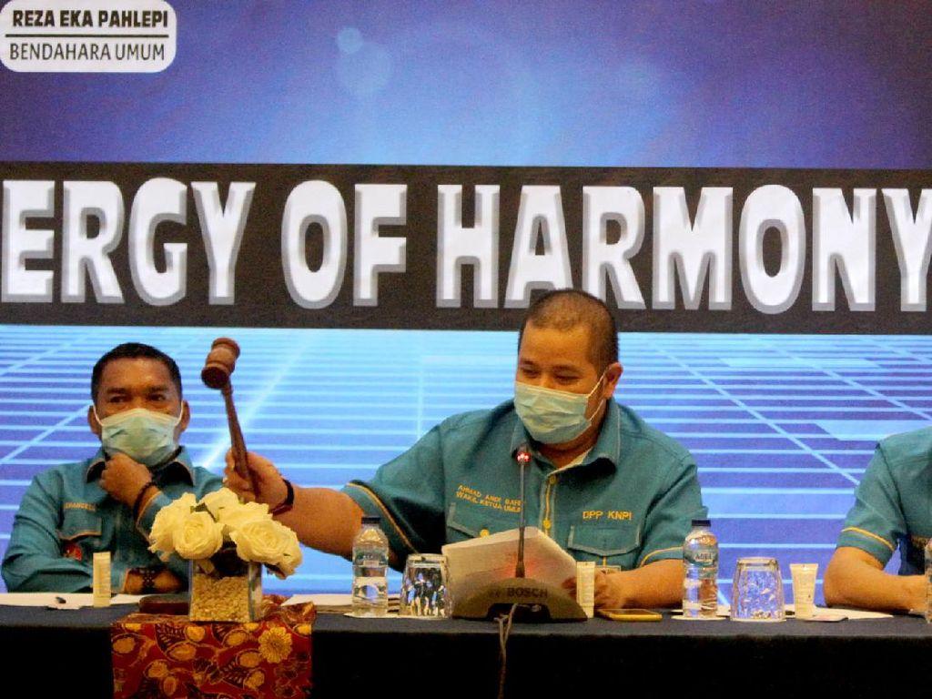 Rapat Pleno DPP KNPI Copot Ketum Haris Pertama