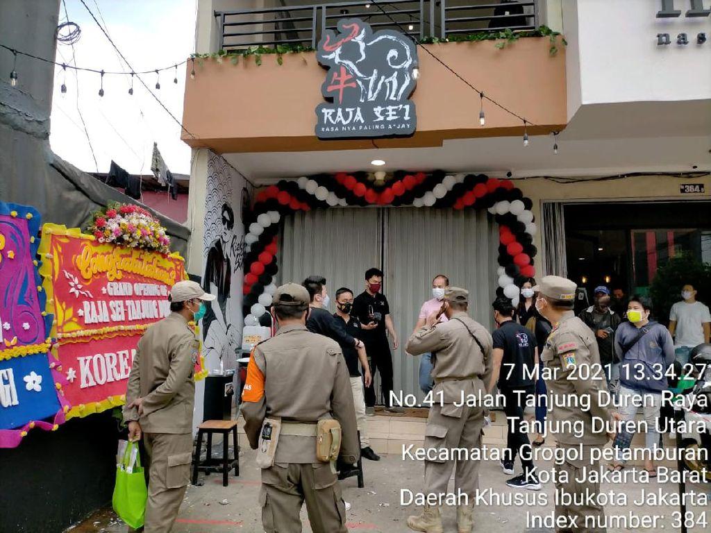 Restoran yang Dihadiri Rizky Billar Ditutup Sementara Akibat Kerumunan