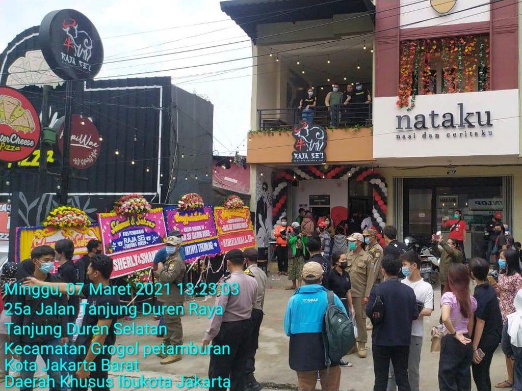 4 Fakta Kerumunan Opening Restoran Dihadiri Rizky Billar Dibubarkan