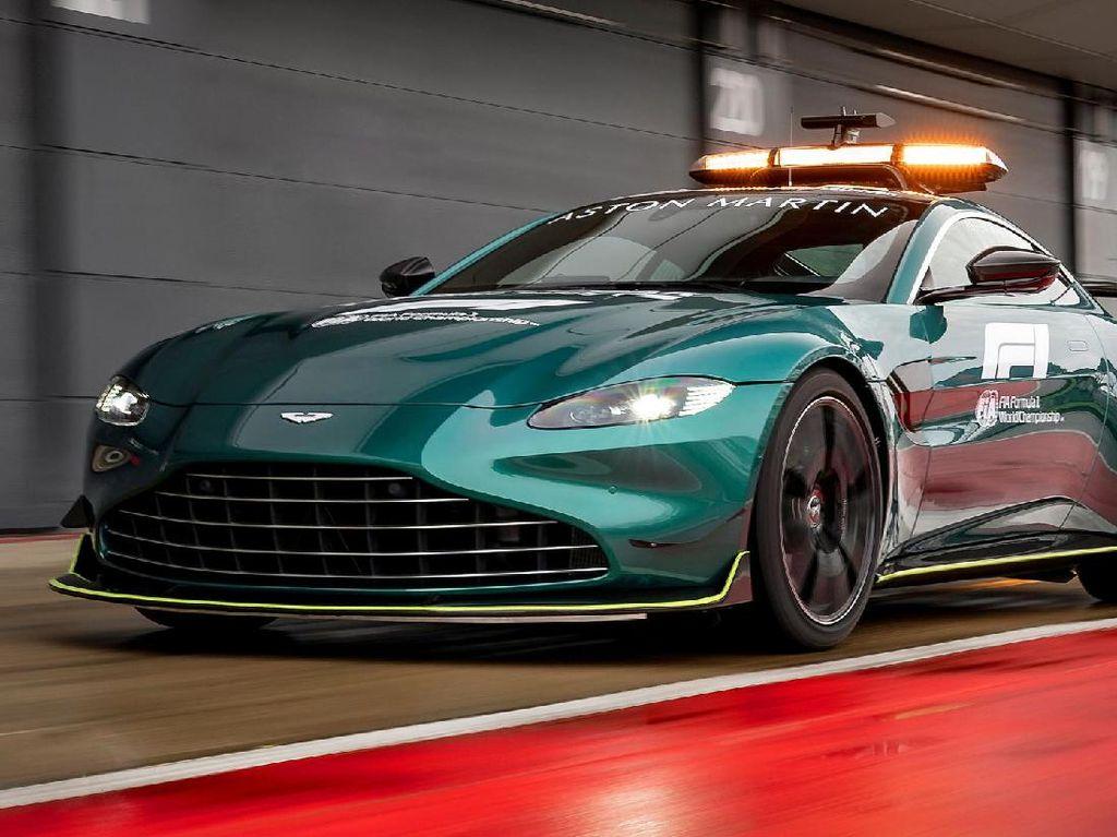 Ini Wujud Mobil Safety Car Terbaru F1 dari Aston Martin