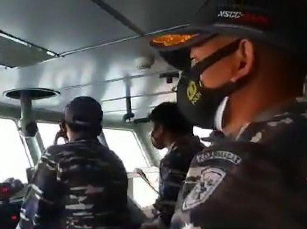 Kapal Perang AL-Jet Tempur AU Gelar Operasi Bersama di Ambalat