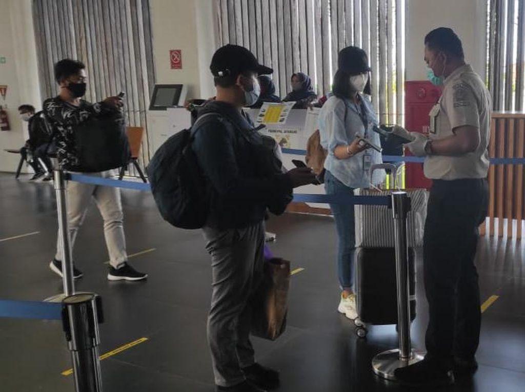 Belum Ada Instruksi Antisipasi Corona B117, Bandara Banyuwangi Gunakan e-HAC
