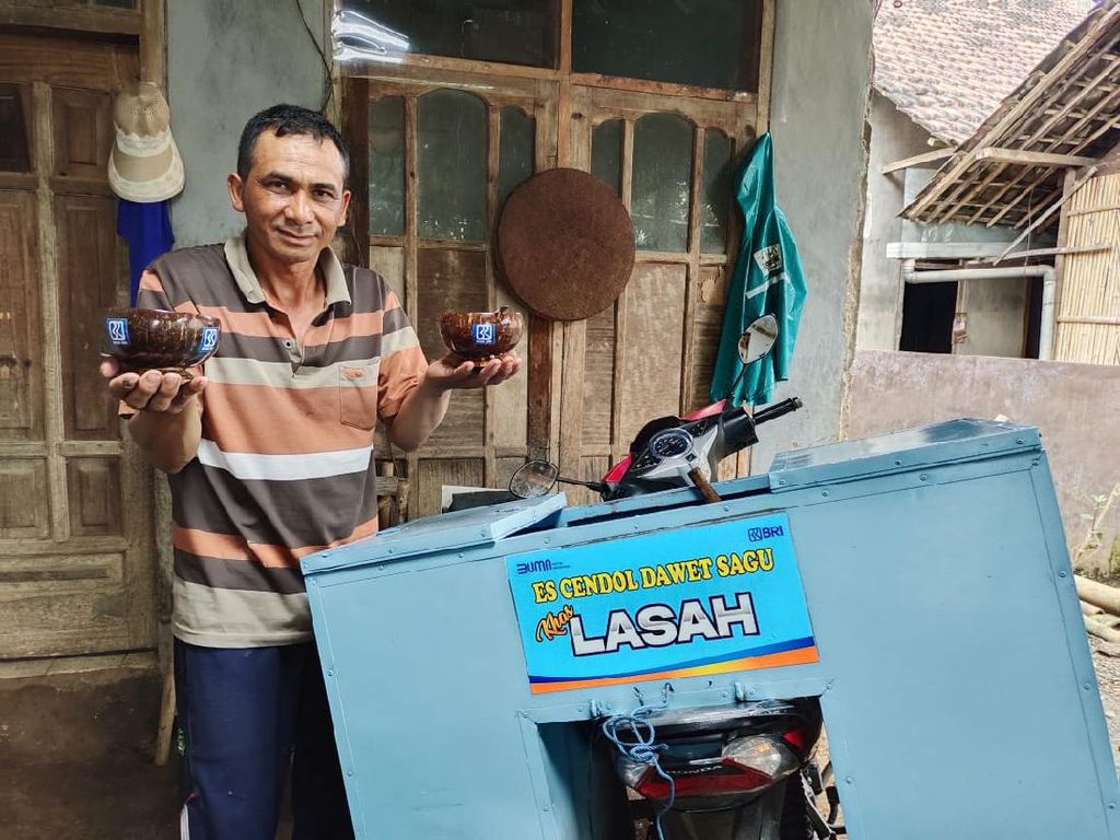 Kisah Kumpulan Pedagang Cendol Dawet Gerakkan Ekonomi Dusun Lasah