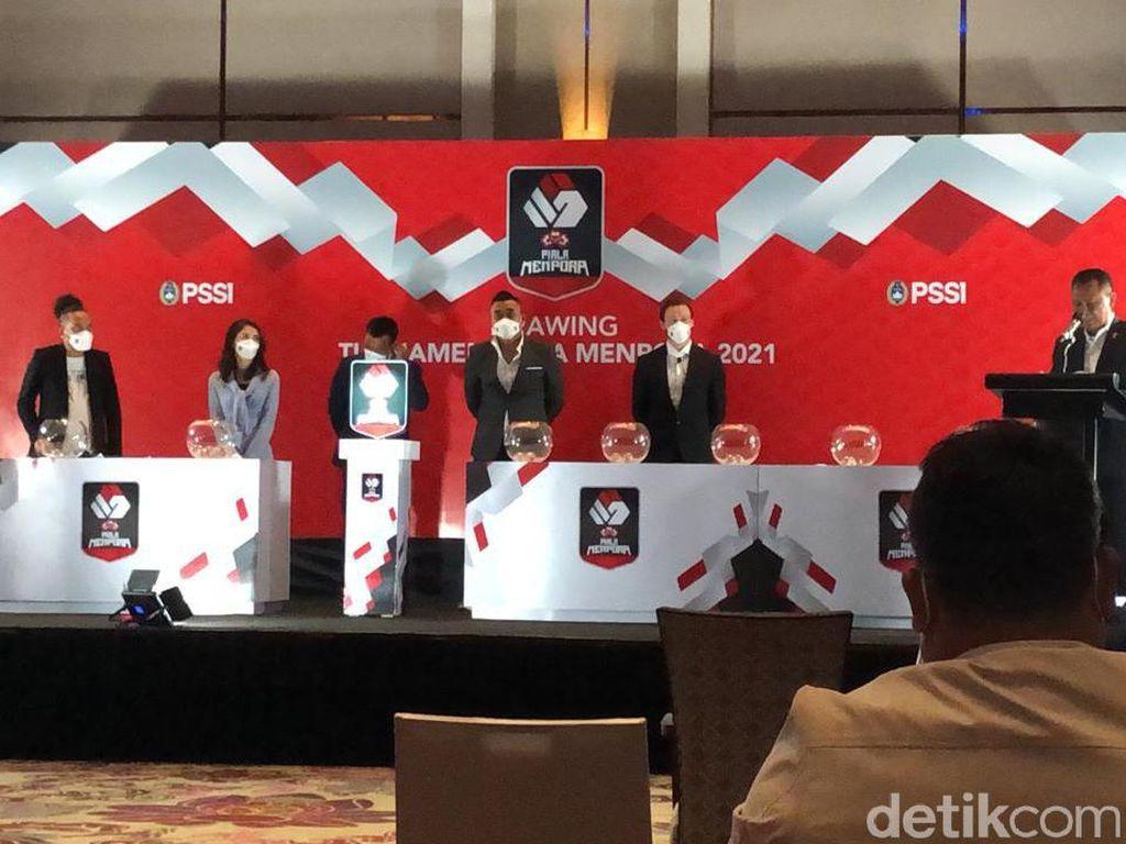 Jadwal Piala Menpora 2021 Berubah