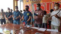 Empat Orang Jadi Tersangka Geng Motor Acungkan Celurit di Serang