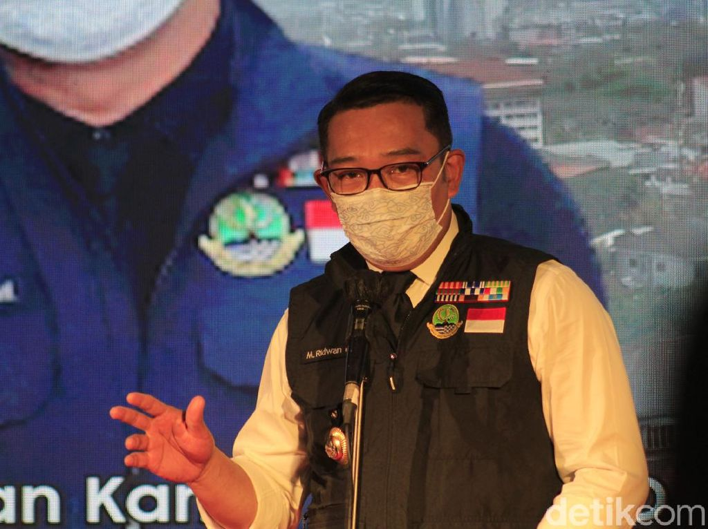 Ridwan Kamil Tegur Kepala Daerah Minta Vaksinasi COVID-19 Dikebut