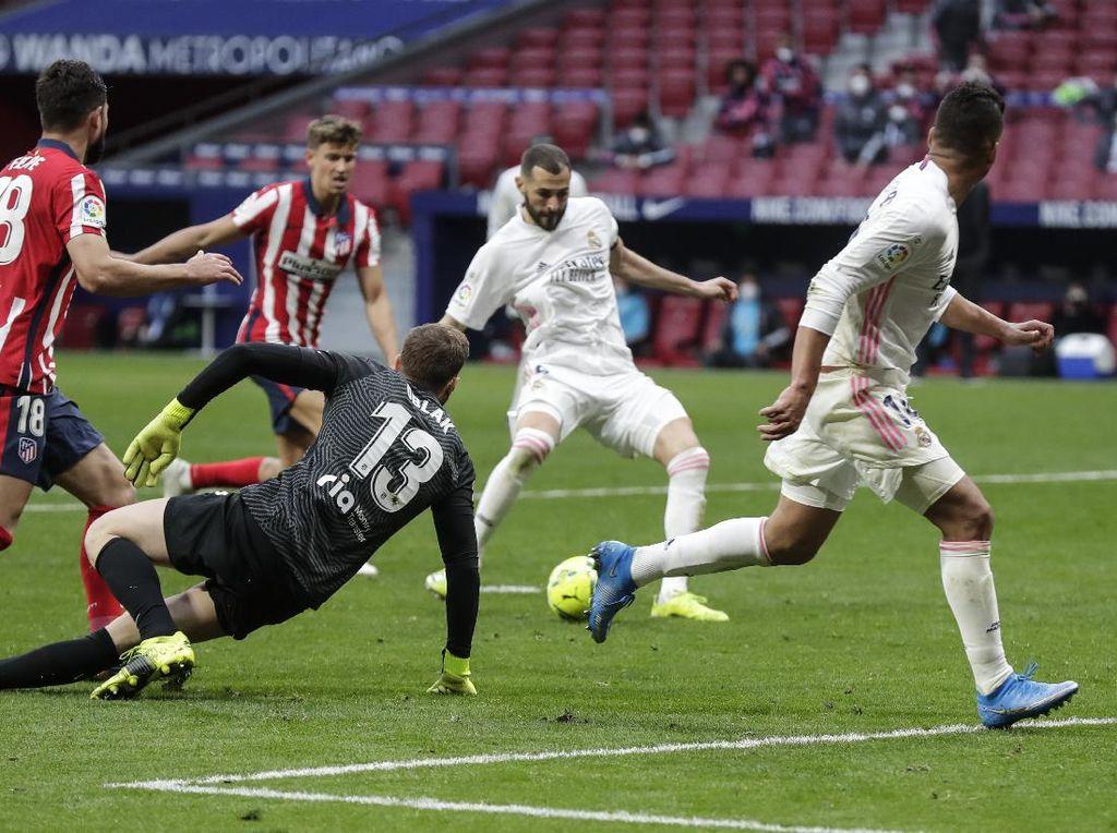 Derby Madrid Imbang, Benzema Gagalkan Kemenangan Atletico