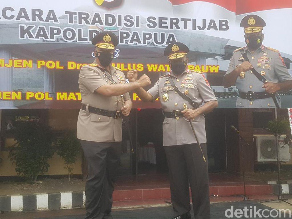 Di Momen Sertijab, Komjen Paulus Pesan Polda Papua Atensi Masalah Rasisme
