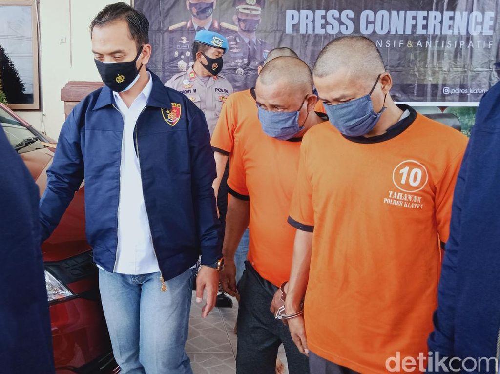 Komplotan Pembobol Mesin ATM Lintas Provinsi Dibekuk di Klaten