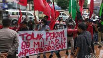 Mahasiswa Protes Anggaran Perjalanan Dinas Rp 89 M Pemkab Pandeglang