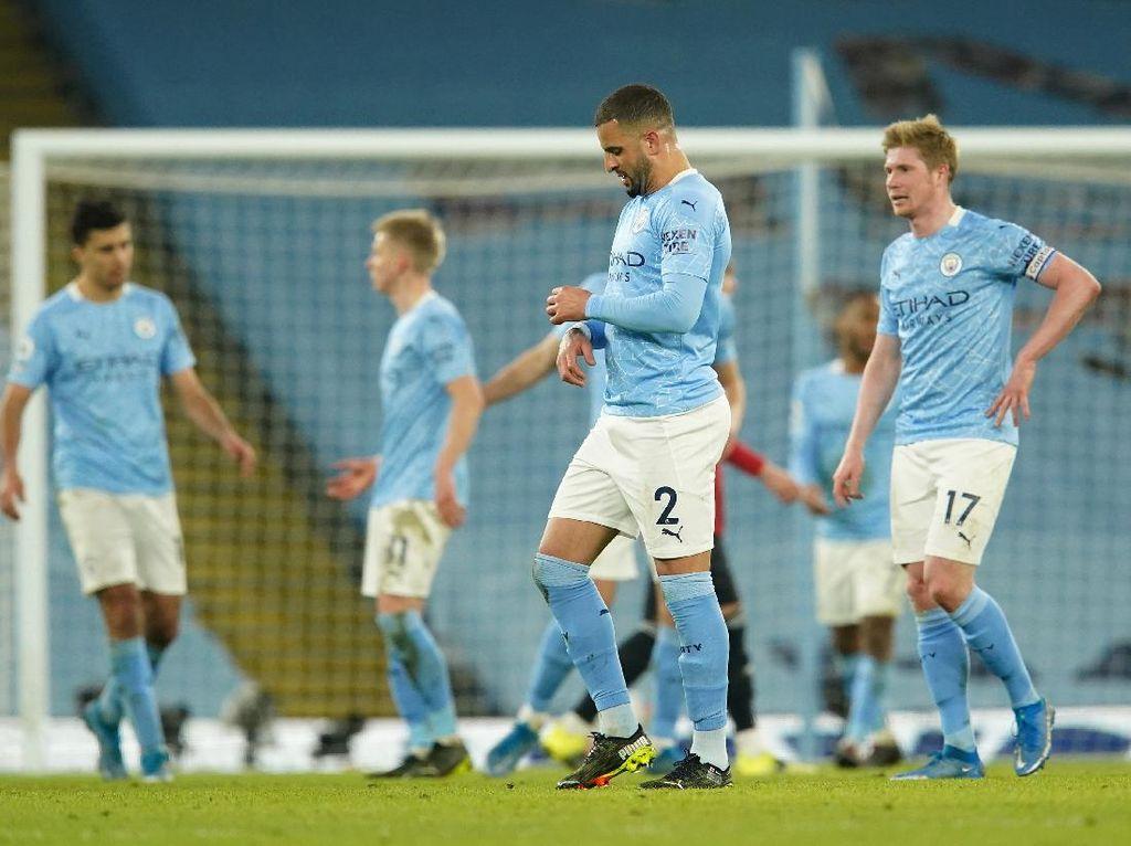 Setelah 28 Laga, Manchester City Akhirnya Kalah
