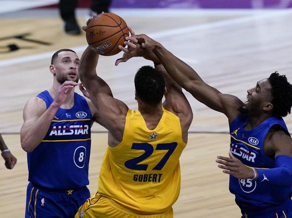 NBA All-Star: Tim LeBron Kalahkan Tim Durant 170-150