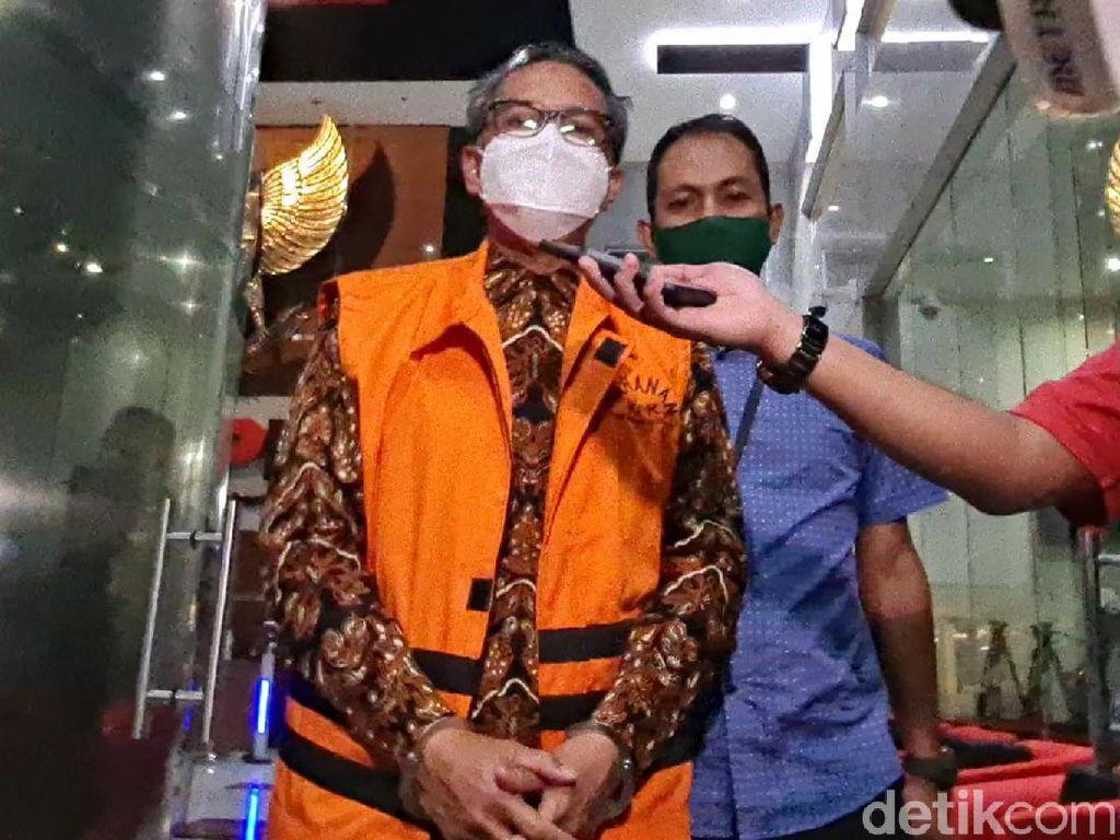Nurdin Abdullah Bantah Tak Kooperatif Saat Ditangkap KPK