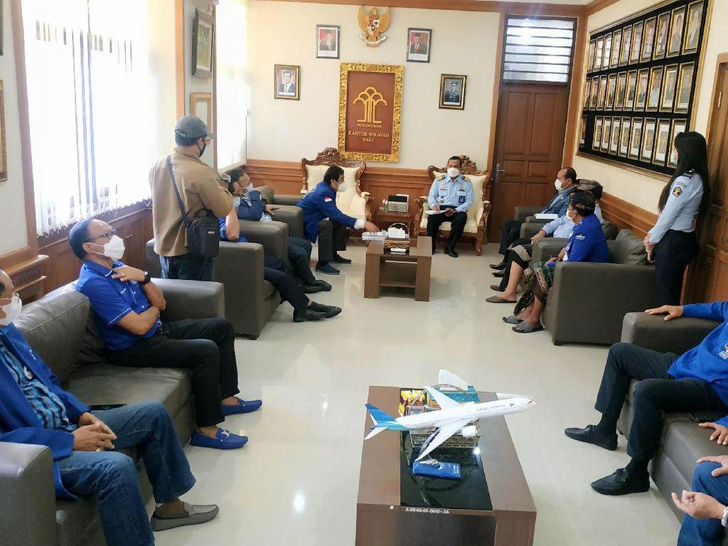 Kisruh KLB Sumut, PD Bali Serahkan Bukti Legalitas ke Kanwil Kemenkumham