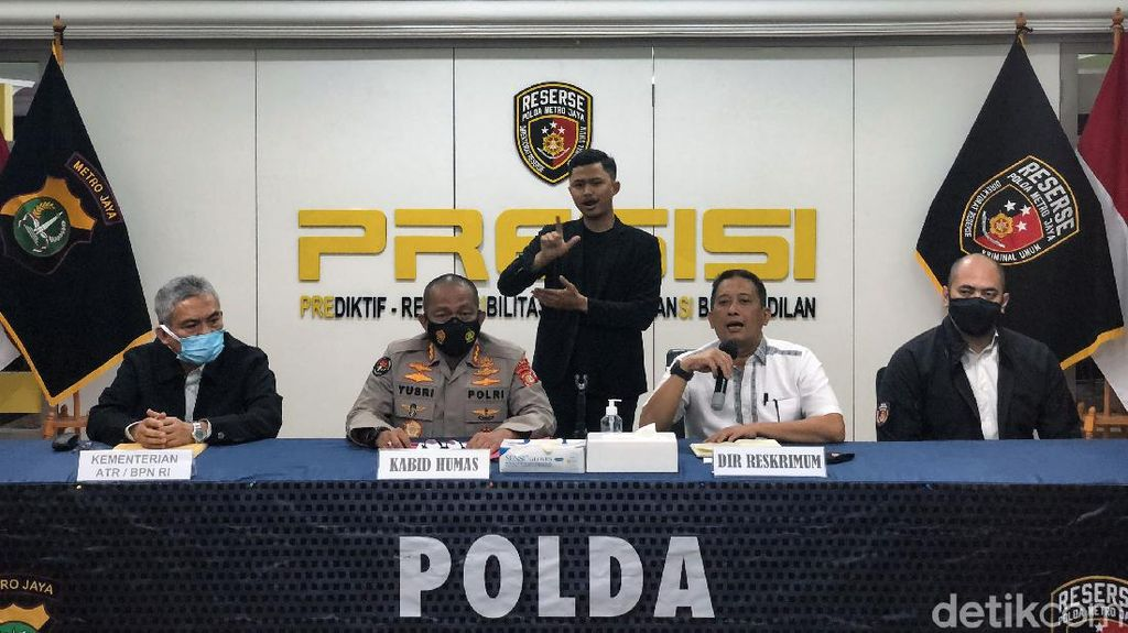 Polda Metro Klarifikasi Terkait Bekingi Mafia Tanah