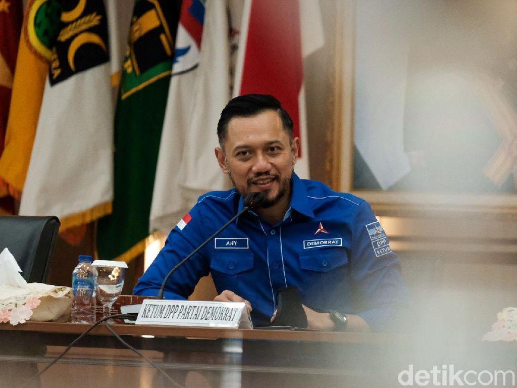 Ditolak Pemerintah, Kenapa Kubu Moeldoko Dorong AHY Maju Pilgub DKI?
