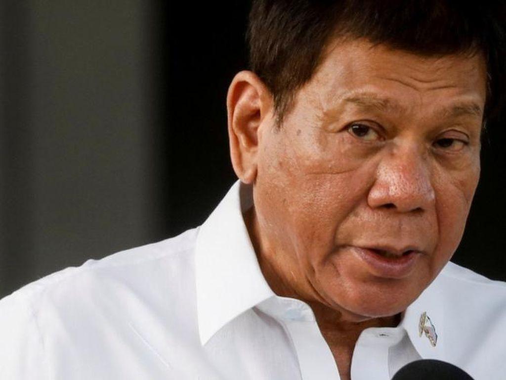 Duterte Serukan Solusi Damai untuk Sengketa Diplomatik Terkait Kapal China