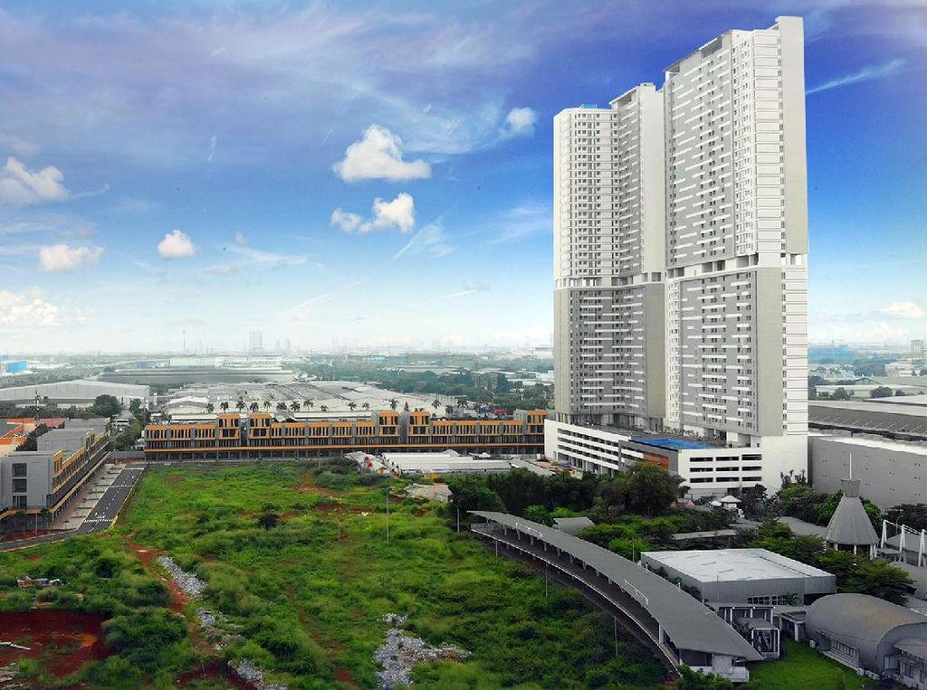 Progres Hunian Vertikal Kota Jepang di Timur Jakarta
