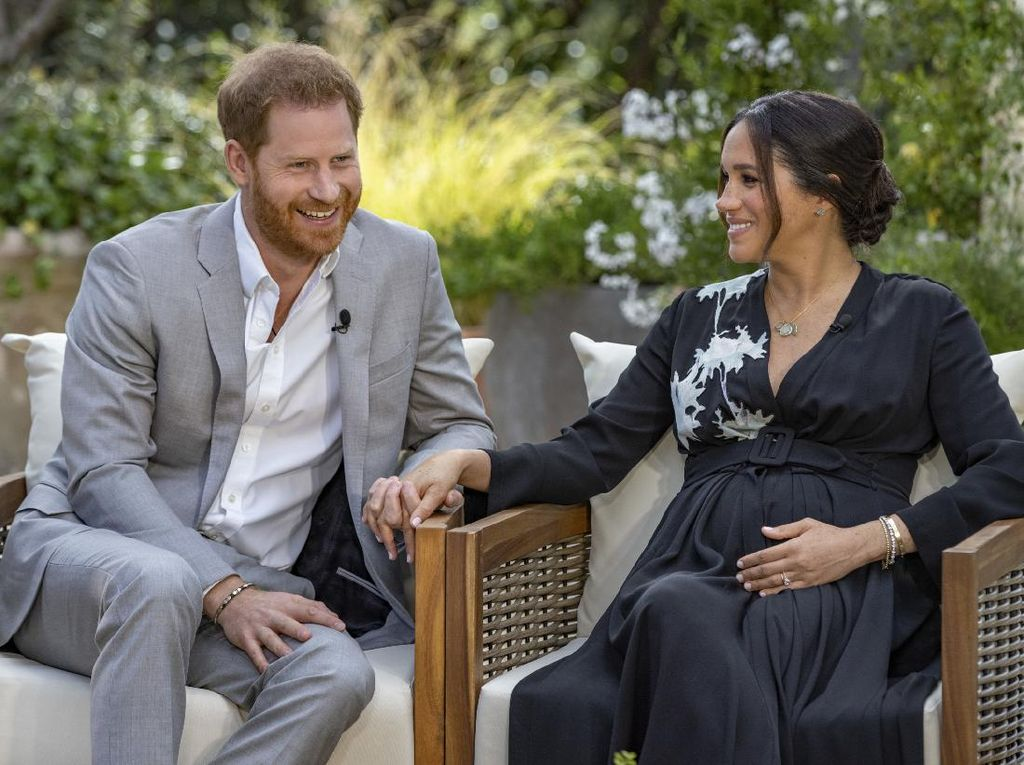 Wawancara Meghan Markle-Pangeran Harry Disaksikan 17,1 Juta Penonton