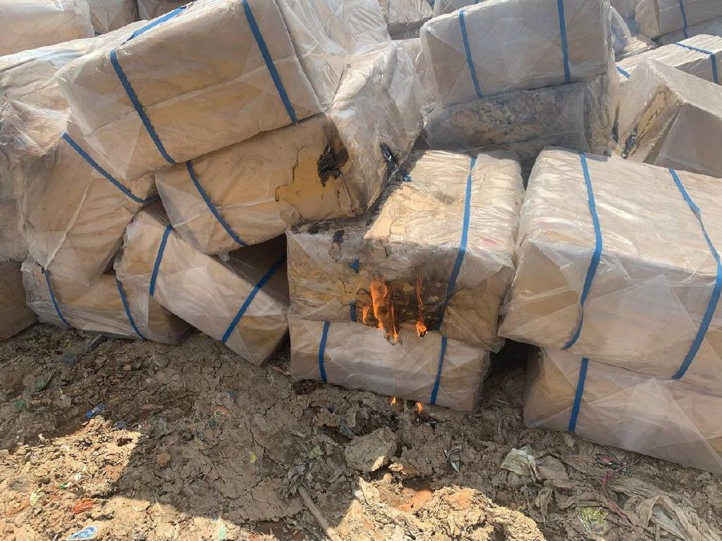 10,2 Juta Batang Rokok Ilegal Senilai Rp 10,3 M Dimusnahkan di Aceh
