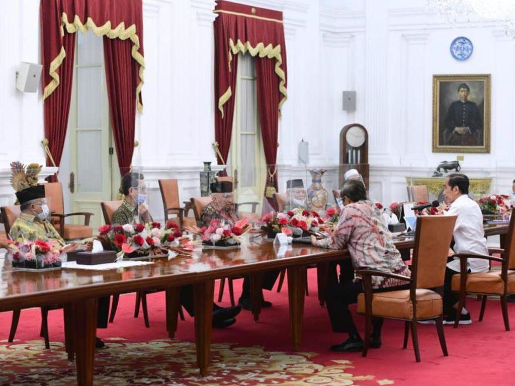 Di Depan Jokowi, Amien Rais dkk Ingatkan soal Ancaman Neraka Jahanam