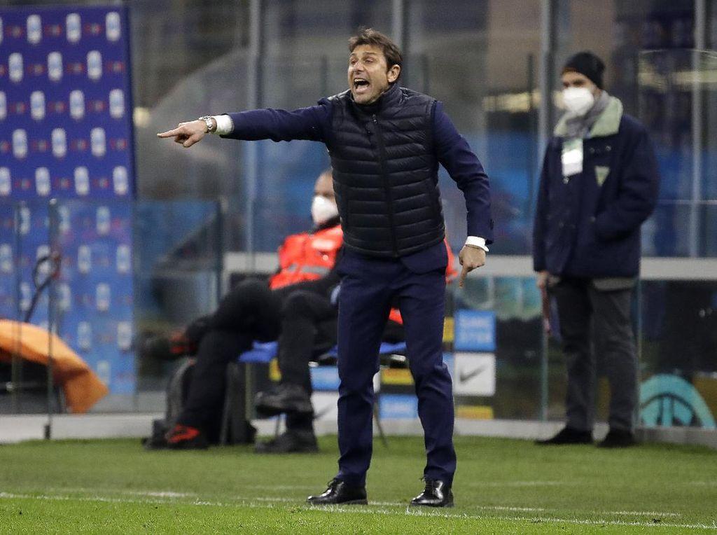 Conte Apresiasi Kemenangan Inter atas Atalanta, tapi...