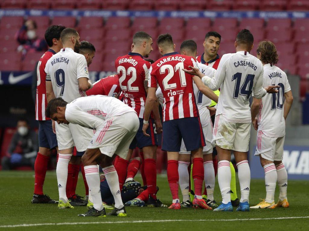 Real Madrid Keluhkan Handball Saat Derby, Atletico Serang Balik!