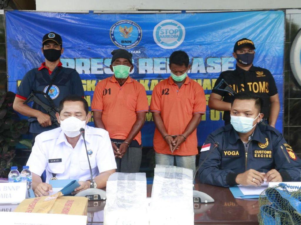 Bea Cukai Tangkap 2 Penyelundup Sabu Asal Malaysia ke Kaltara