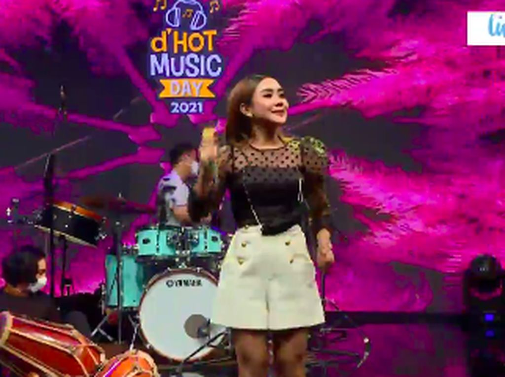 Cita Citata Ditantang Bikin Lagu The Rain Jadi Dangdut di dHot Music Day