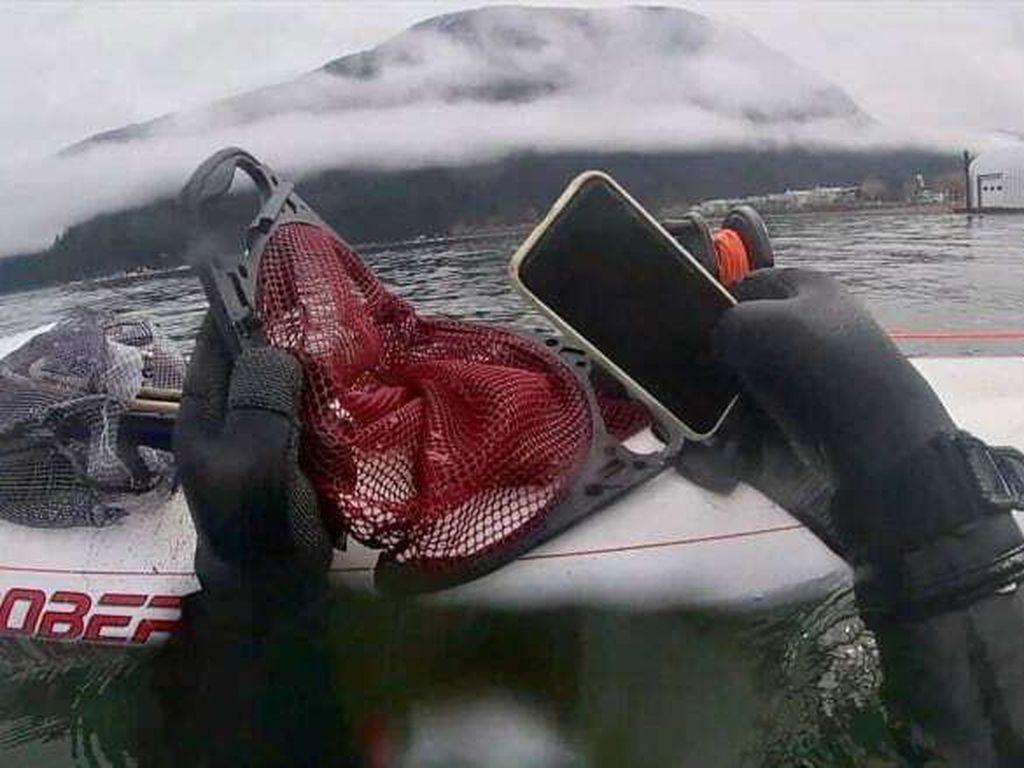 6 Bulan Tenggelam di Danau, iPhone 11 Masih Berfungsi