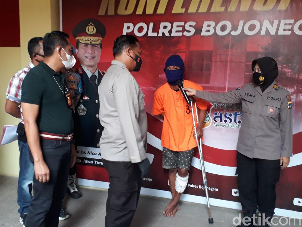 Jambret di Bojonegoro Tertangkap Usai Bertahun-tahun DPO