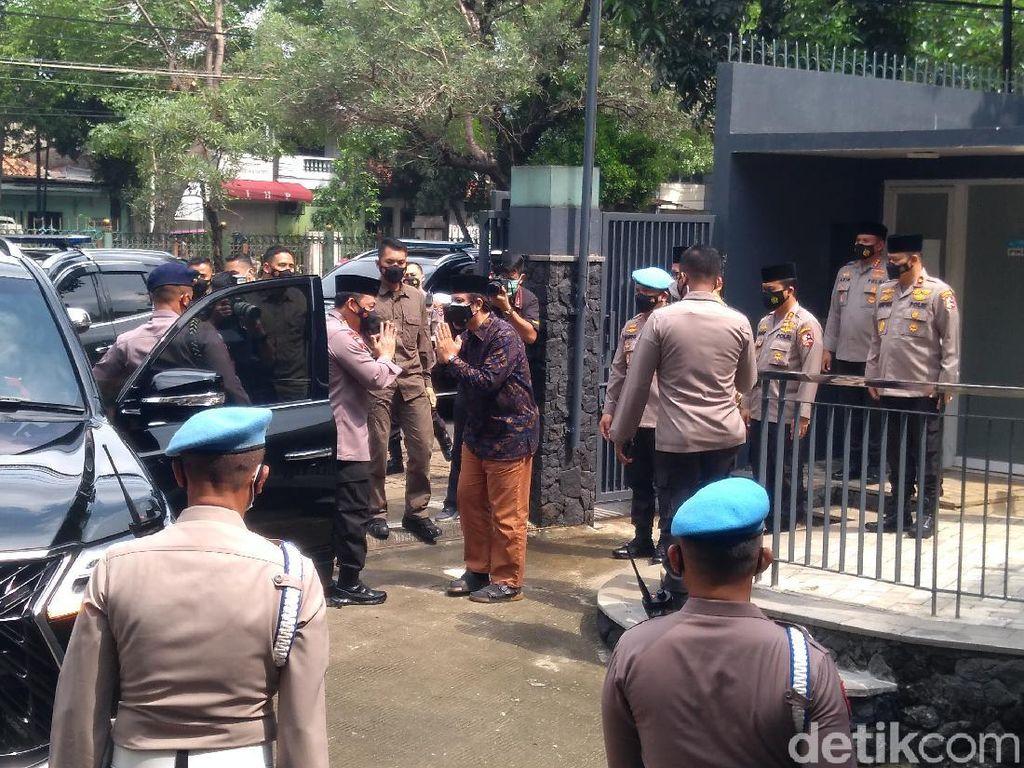 Silaturahmi, Kapolri Jenderal Sigit Sambangi Kantor DPP LDII