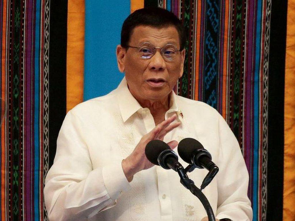 Diisukan Meninggal, Duterte: Jika Ingin Saya Mati, Berdoa Lebih Giat!