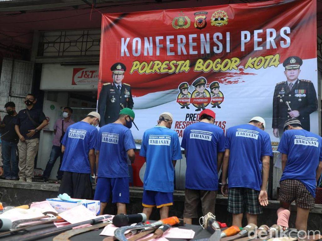 Aniaya Remaja hingga Tewas, 3 Pelaku Tawuran Antargeng di Bogor Ditangkap