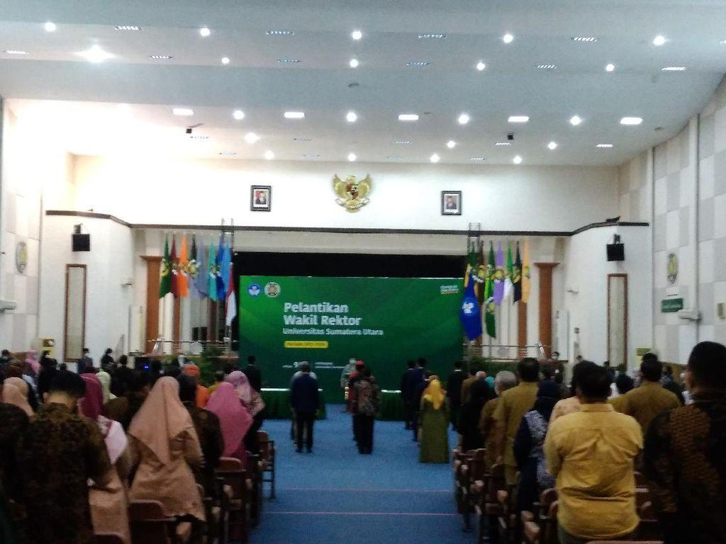 5 Wakil Rektor USU Dilantik, Ada Jubir-Anak Buah Rektor Saat Jadi Dekan