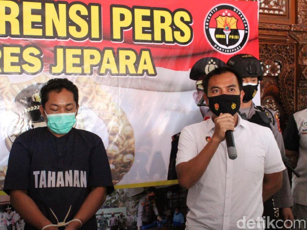 Maling Spesialis Motor Jemaah Masjid Ditangkap di Jepara