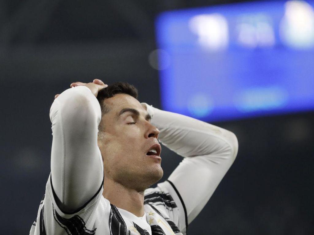Cristiano Ronaldo Kena Damprat Usai Tersingkirnya Juventus