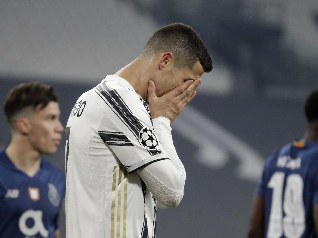Kegagalan Juventus di Liga Champions Bukan Salah Ronaldo Semata