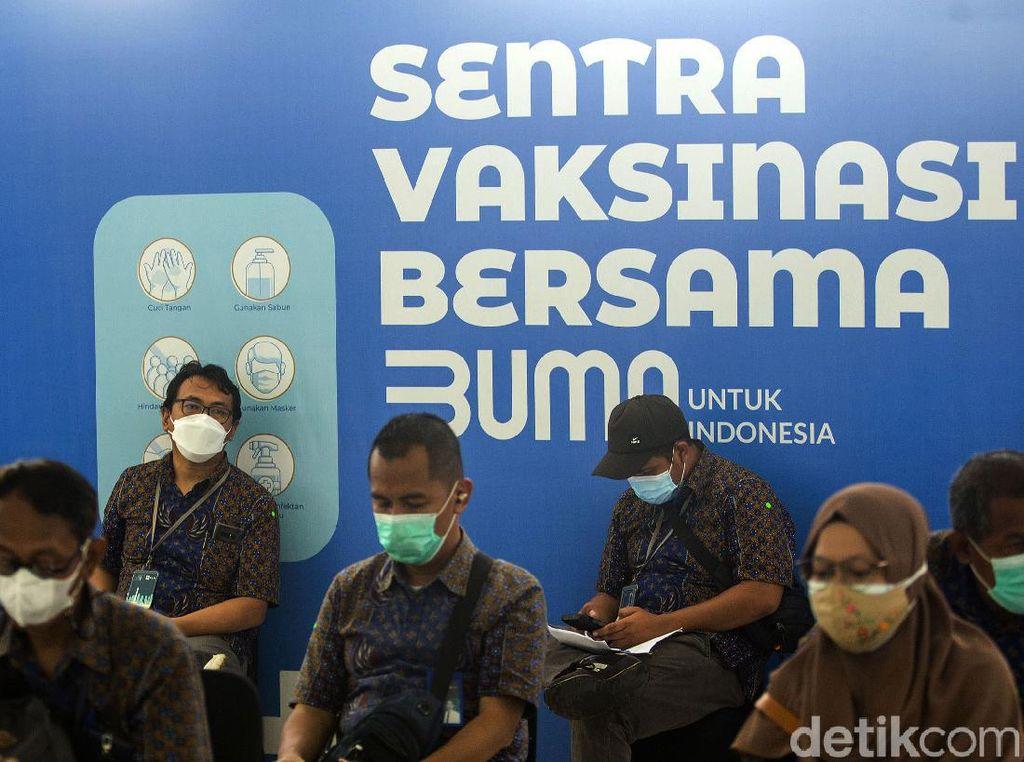 Operasional Sentra Vaksinasi BUMN Berubah saat Ramadhan, Ini Jadwalnya