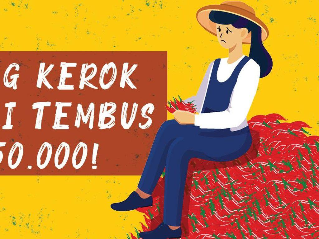 Biang Kerok Cabai Tembus Rp 150.000!