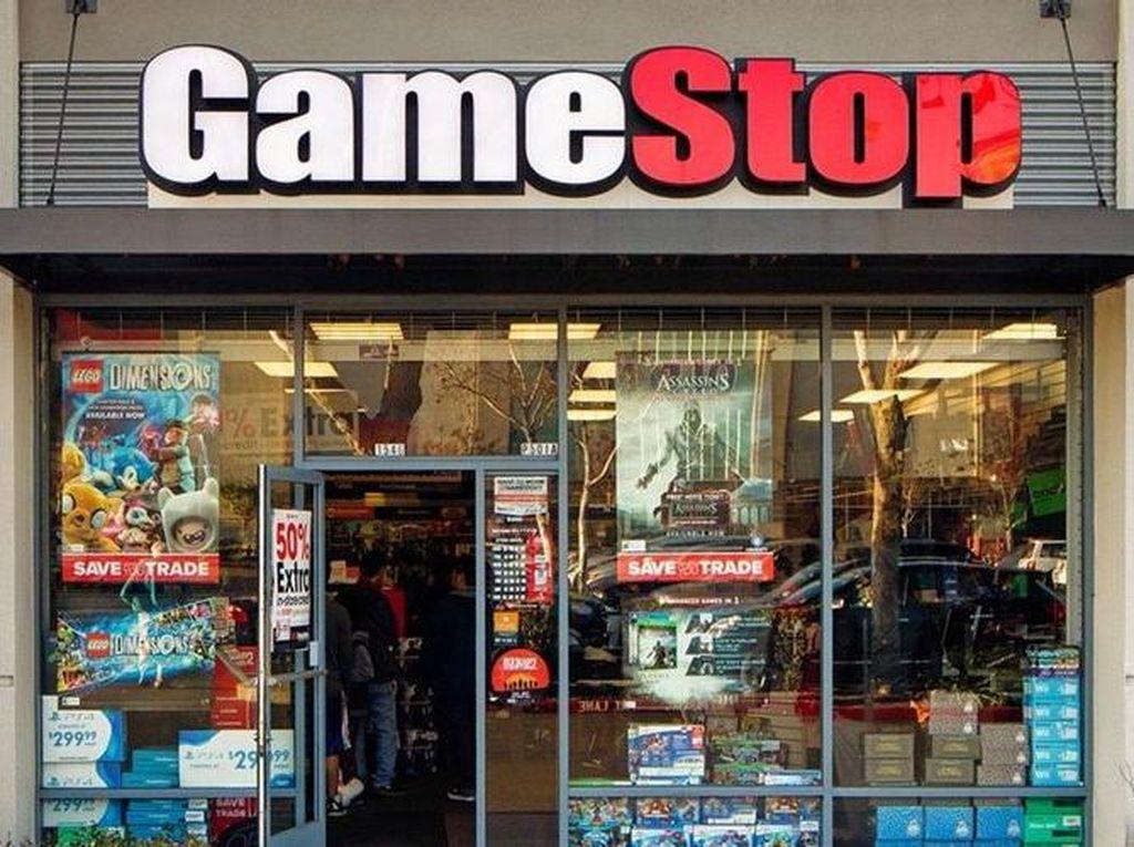 Saham GameStop Melorot 12%, Ada Apa Gerangan?