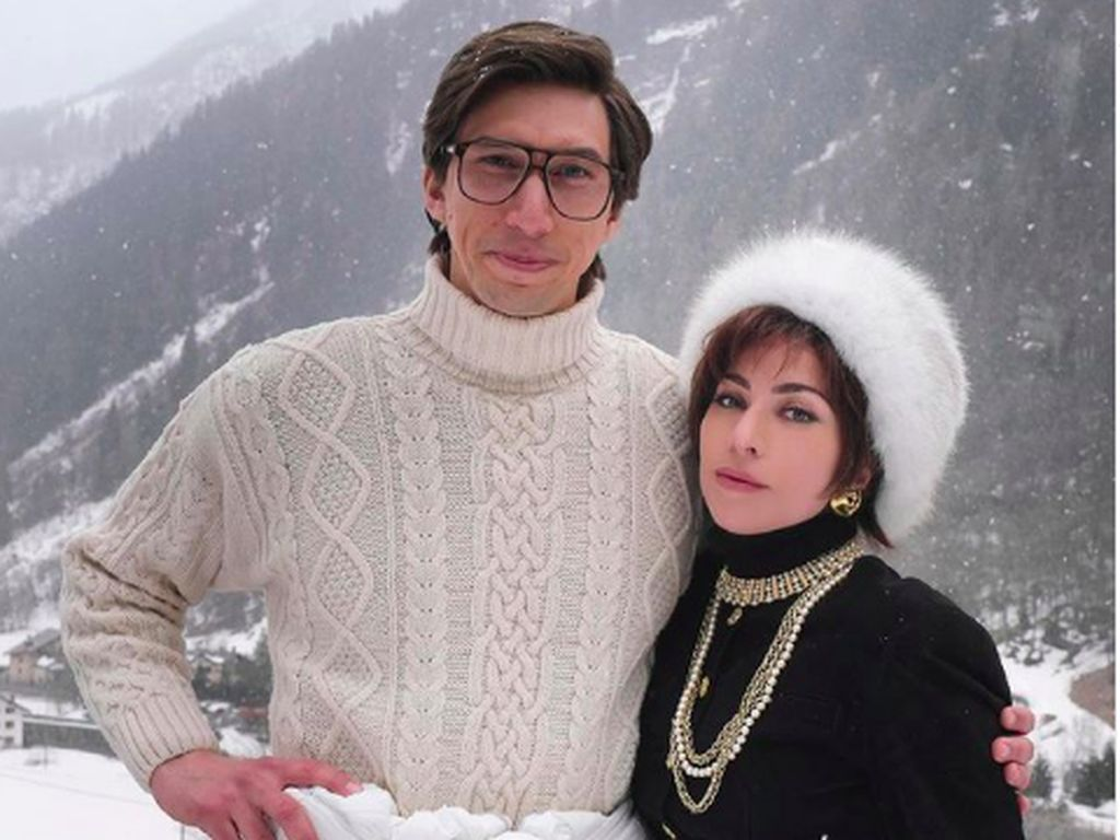 Lady Gaga dan Adam Driver Bintangi Biopik House of Gucci