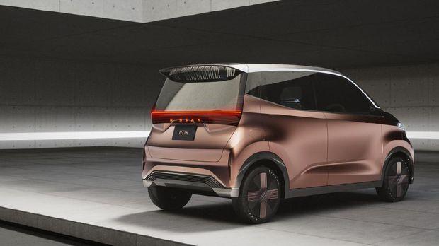 Konsep mobil listrik ukuran mungil Nissan IMk.
