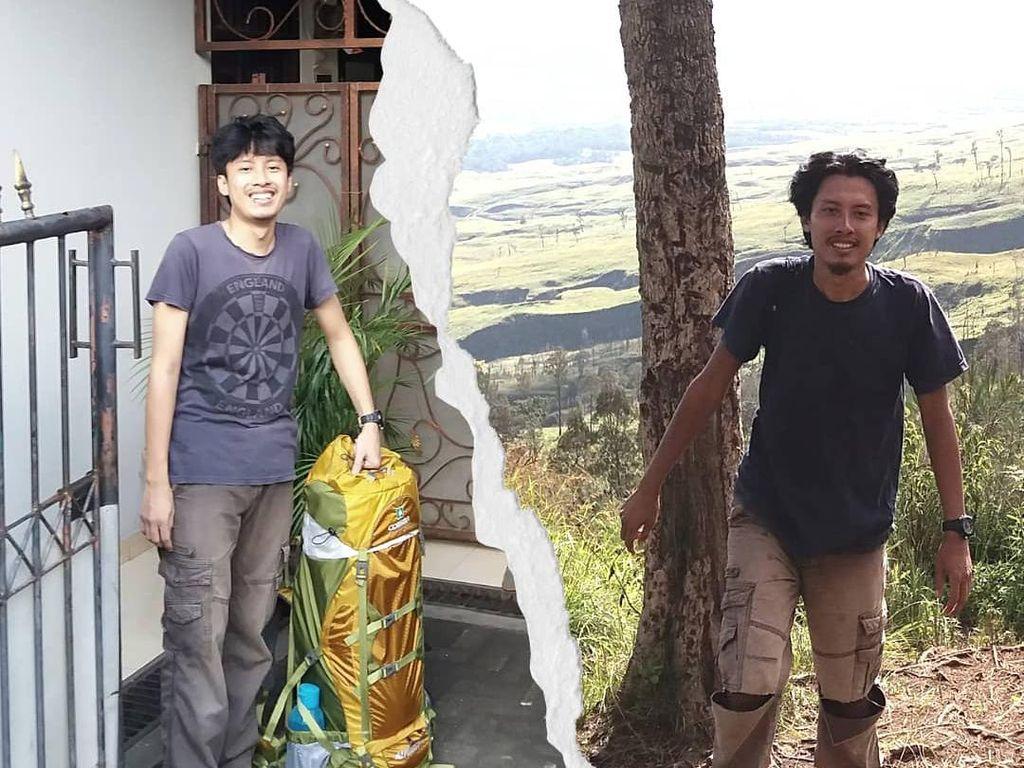 Perjalanan Panjang Reza Nufa Jalan Kaki dari Ciputat ke Gunung Rinjani
