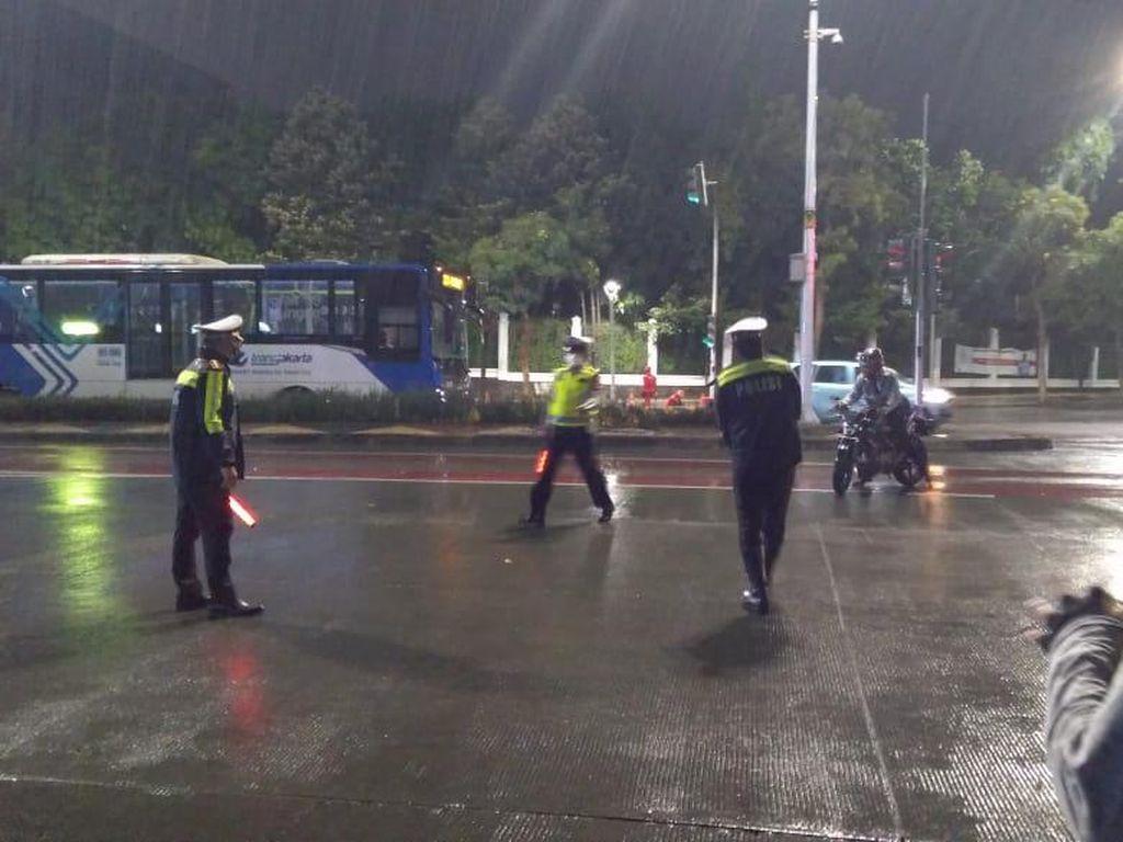 Razia Knalpot Bising di Monas dan Sudirman-Thamrin, Polisi Tilang 11 Pemotor