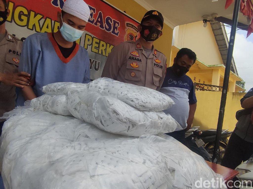 Curi 12 Ribu Tali Pengait Bra, Pria Cianjur Ditangkap Polisi